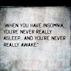 Psychology ONE Insomnia